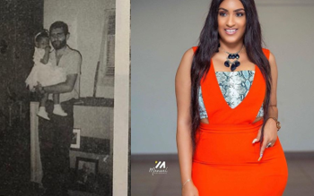 Juliet Ibrahim shares epic throwback photos with her dad to celebrate his birthday (Photos)
