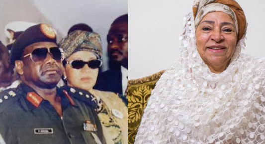 We are not rich, I left Aso Rock with nothing - Abacha's wife, Maryam Abacha (Video)