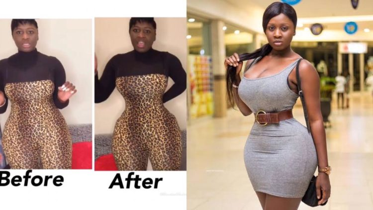 Princess Shyngle finally reveals what she does to make her waist so tiny (Video)