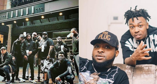 'We all love each at DMW' - Davido brags about his record label