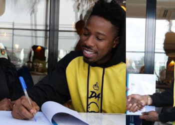 Ike Onyema bags first endorsement deal (Photos)