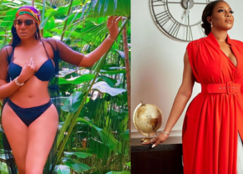 Nollywood actress, Chika Ike celebrates her birthday with sultry photo