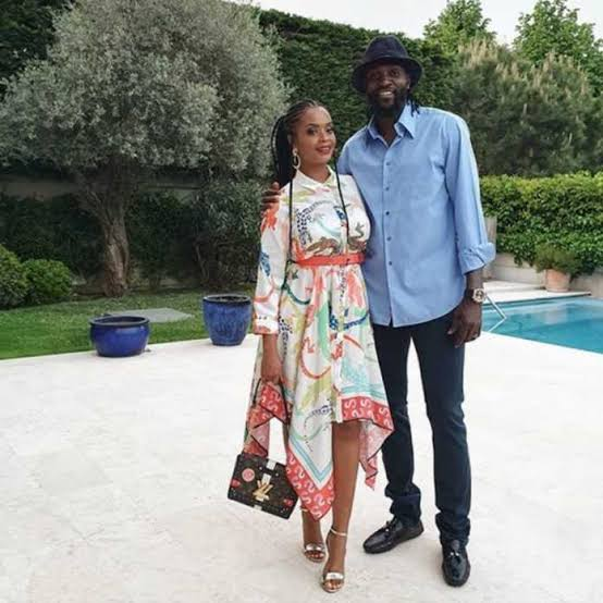 Footballer Emmanuel Adebayor and Dillish Mathews split