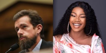 Twitter CEO, Jack Dorsey, follows Tacha on Twitter (photo)