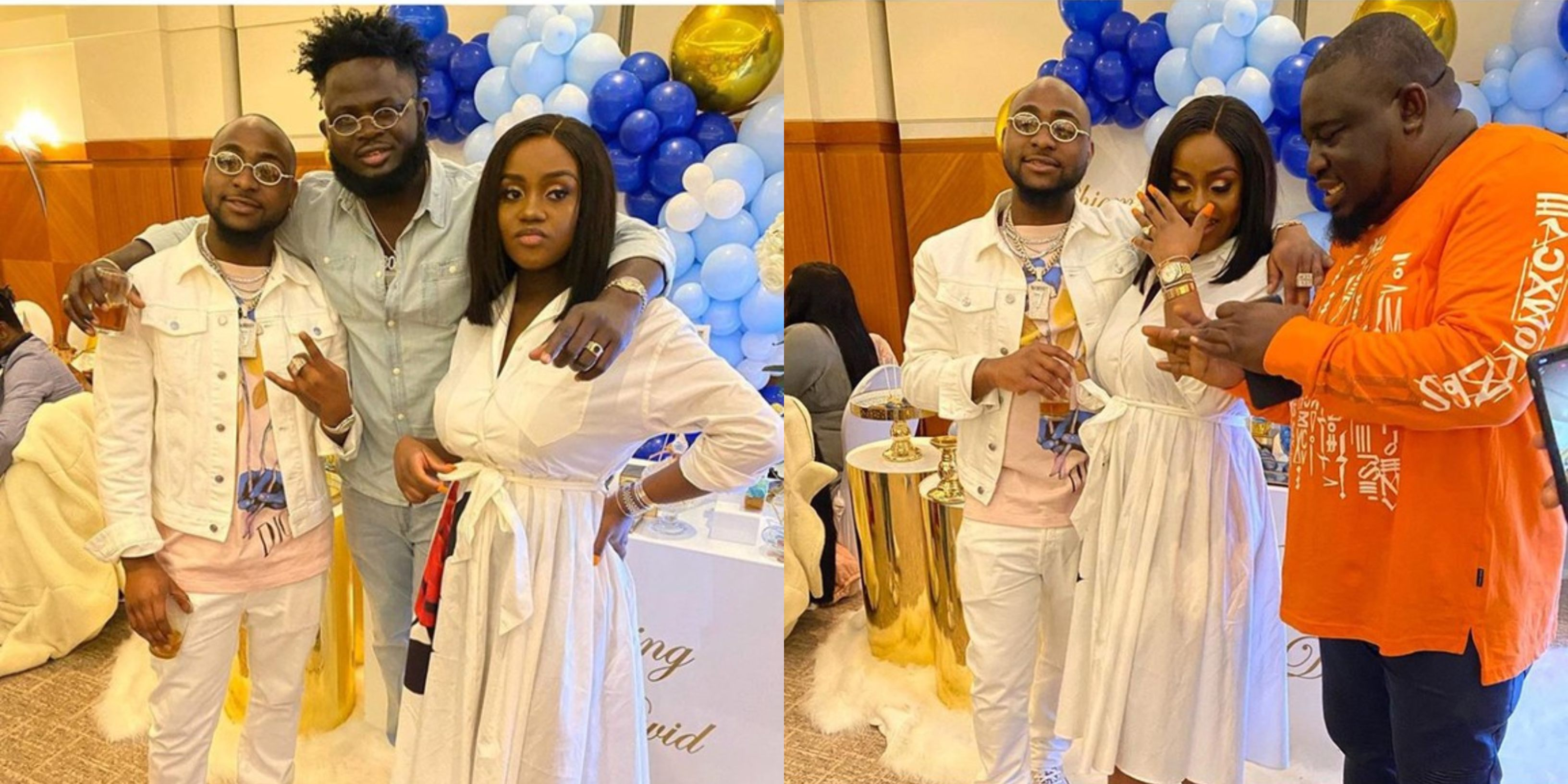 Photos from naming ceremony of Davido And Chioma's son David Jnr. Adeleke