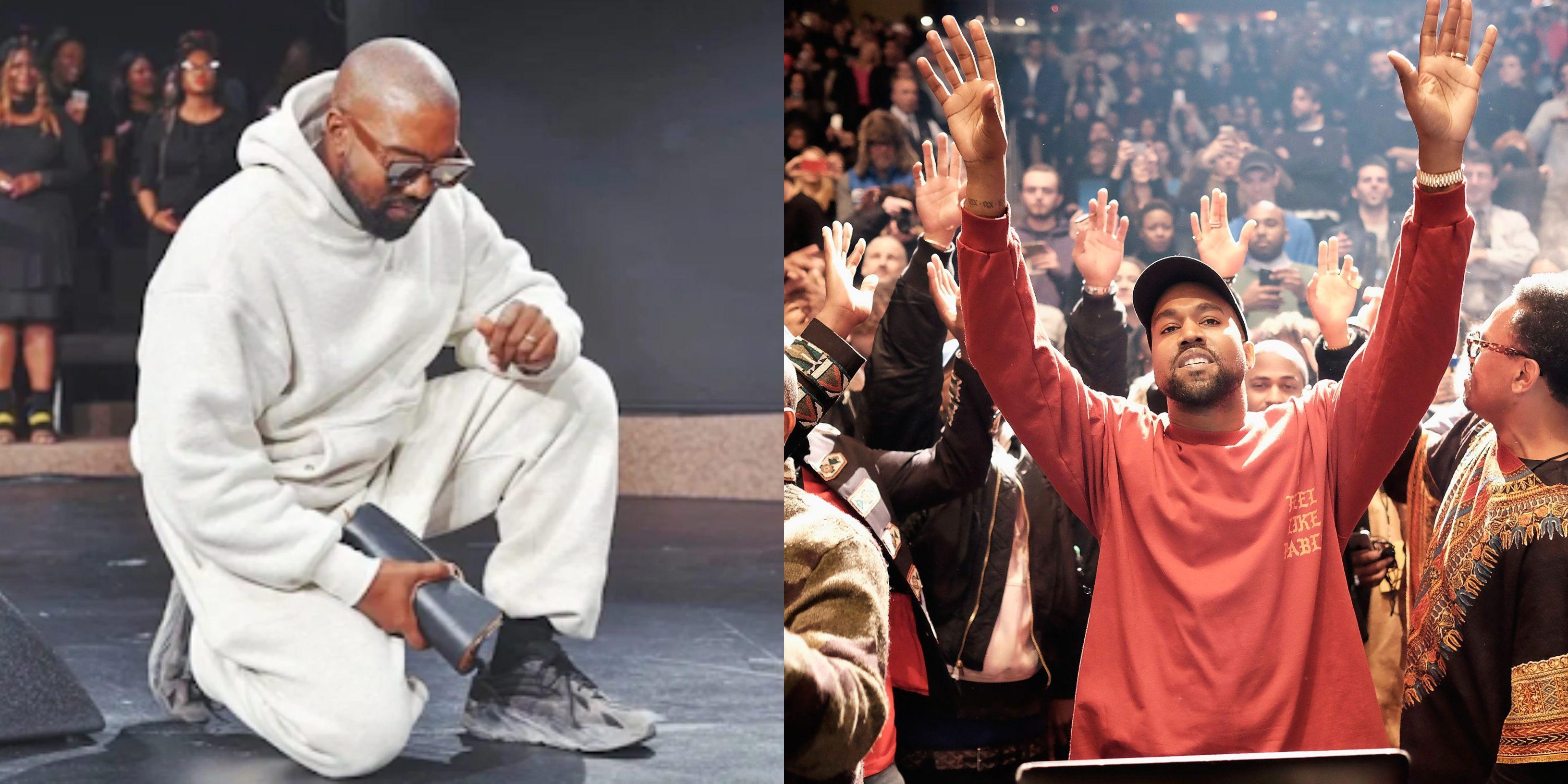 'I have seen every riches that the devil can give but Jesus is King' – Kanye West testifies