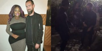 Twitter CEO, Jack Dorsey seen dancing 'Soapy' in Lagos(Video)