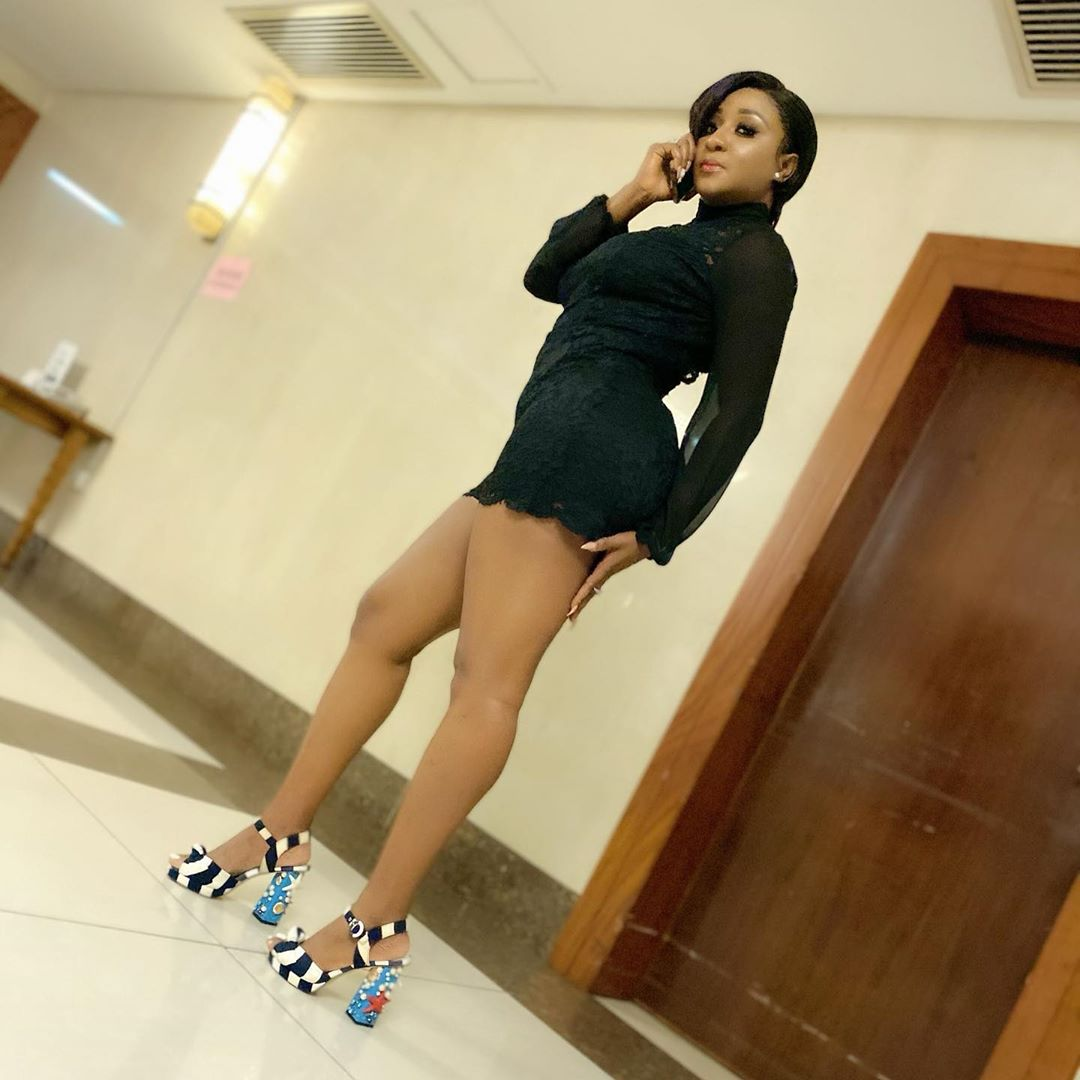 Ini Edo flaunts her newly acquired bum bum and hot legs in new photos