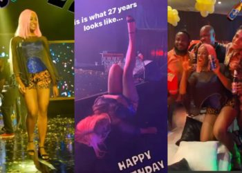 I will enjoy myself even though I don't have a man - DJ Cuppy says as she parties wild (Photos)