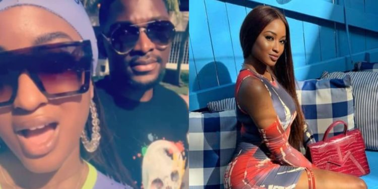 Reality Star Tobi Bakre secretly engages Kim Oprah in Dubai