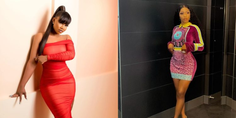 Don't stand too close to the heater babe, plastic melts - Tacha replies Mercy (Photo)