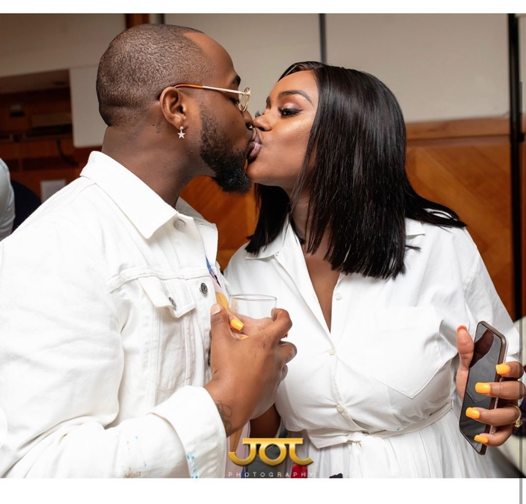It is Papa Ifeanyi's birthday tomorrow - Chioma shares loved up phots with David as she anticipates his birthday