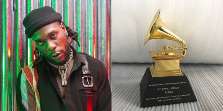 African Giant, Burna Boy nominated for Grammy Awards 2019 (See Full List)