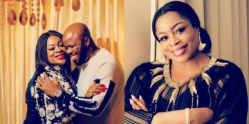 Gospel singer, Sinach shares loved up photo with her husband and thanks her fans for their well-wishes