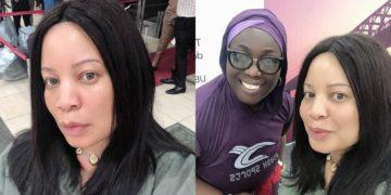 Nollywood Actress, Monalisa Chinda still beautiful in a no-makeup photo