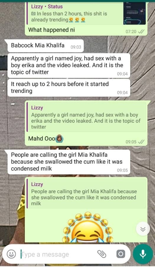 Leaked chat of what fully happened and how it started (Full Gist)