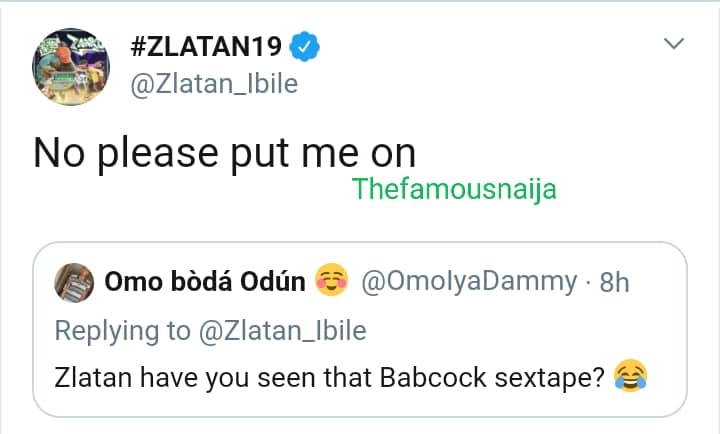 Zlatan Ibile reacts to leaked video of Babcock university students