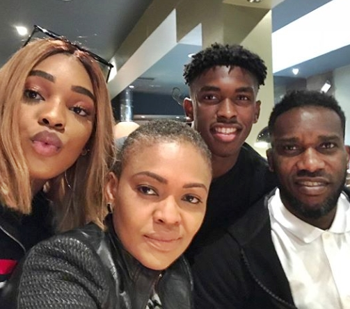 Loved-up photos of Jay-jay Okocha's beautiful daughter Daniella and her boyfriend