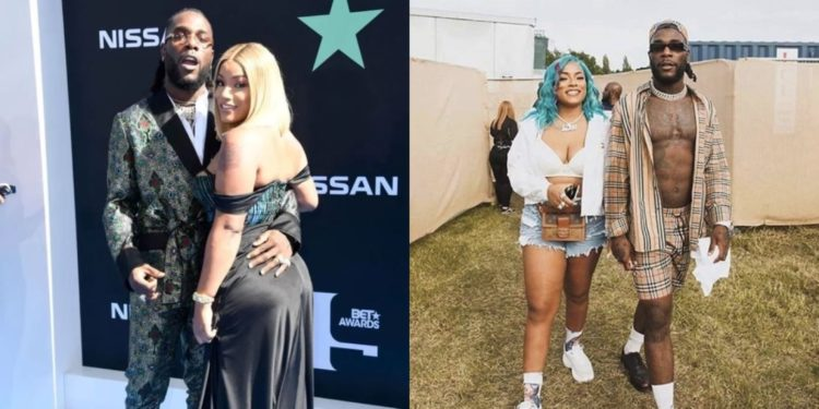 Burna Boy's girlfriend Stefflon Don reacts to his Grammy nomination
