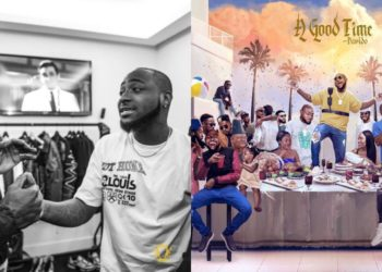 Hollywood actor, Idris Elba reacts to Davido's Album Cover