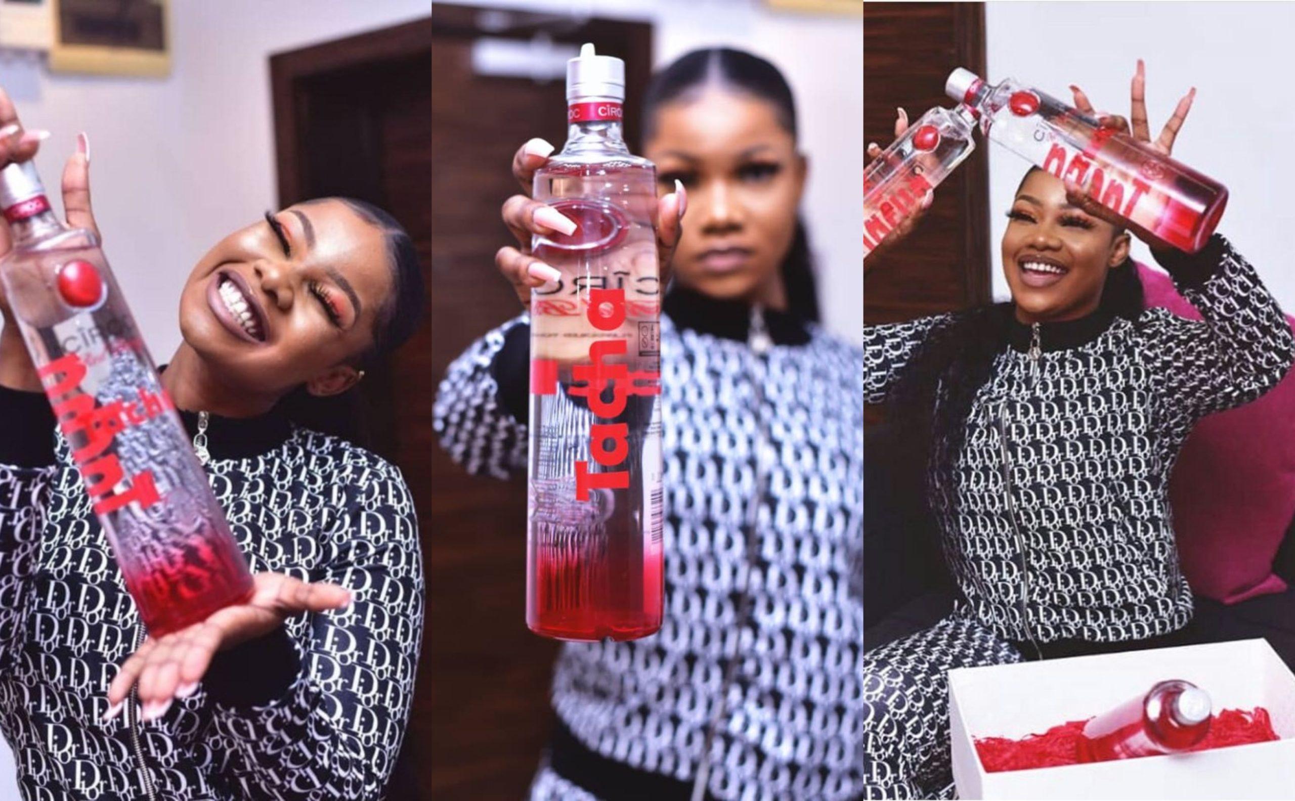 Tacha shades Big Brother Naija Organisers for disqualifying her as she becomes Ciroc Ambassador (Video)