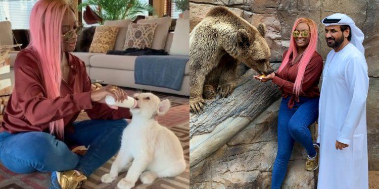 Why I bought a white Lion pet - DJ Cuppy explains