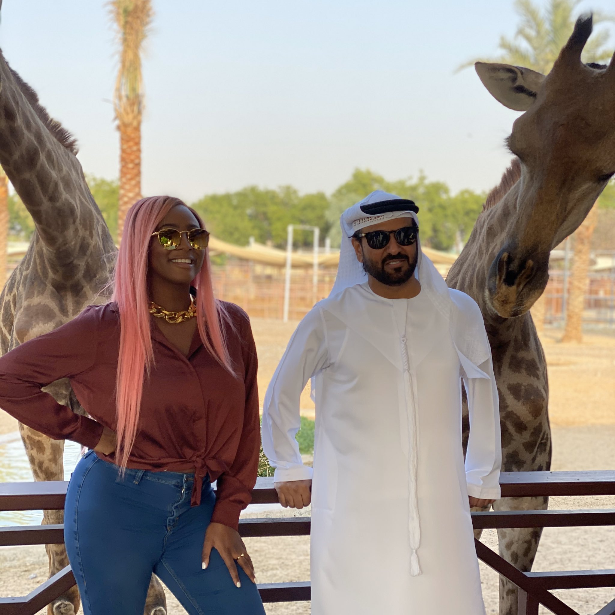 Why I bought a white Lion pet - DJ Cuppy explains
