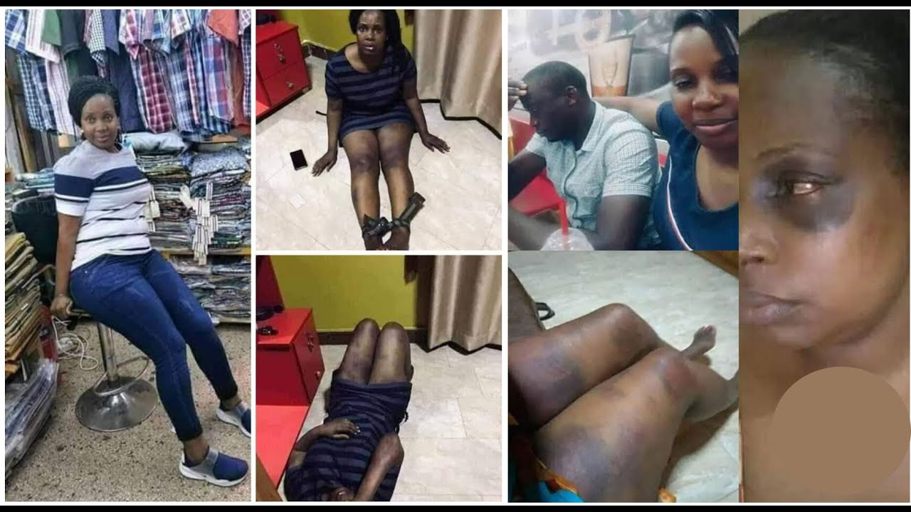 Man beats wife and strips her in public for sleeping with other men