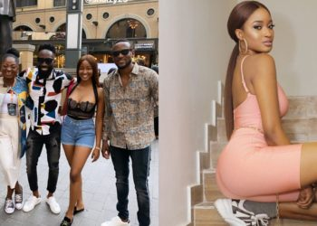 TV stars Kim Oprah and Ike Onyema hit South Africa as Omashola prepares for homecoming party (Video)