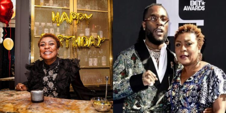 Burna Boy's mother excited as she turns a year older today (Photos)