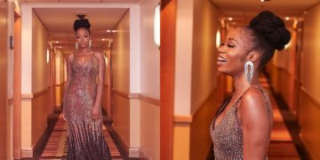 Khafi Kareem is all smiles as she glams up for The Future Awards 2019 (Photos)