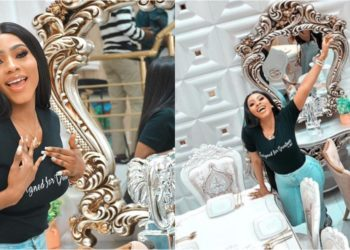 Mercy Eke becomes the face of 'Just Furniture NG' (Video)