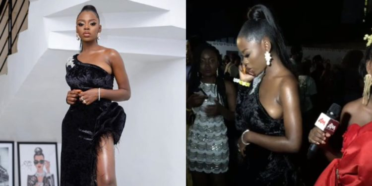 See what BBNaija star Diane Yashim wore for an event last night that has got everyone talking