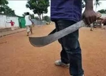 Nigerian father chops off daughter's leg with cutlass while she was asleep for coming home late