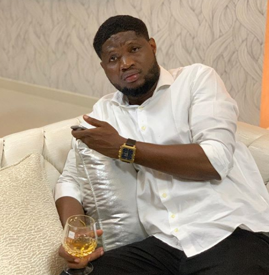 Meet Tonto Dikeh's Dubai-based blogger boyfriend, Godspower Oshodin - He owns one of the top Nigerian blogs (Photos)