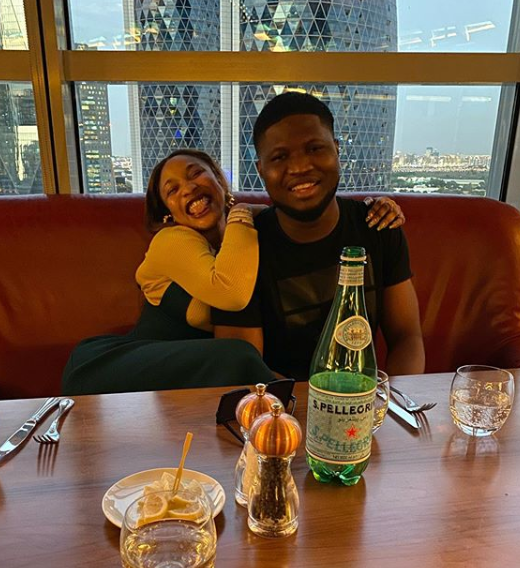 Meet Tonto Dikeh's Dubai-based blogger boyfriend, Godspower Oshodin - He owns one of the top Nigerian blogs (Photos)