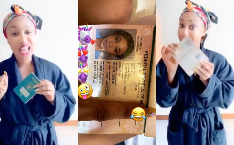 Dubai Police didn't seize my passport old snitch - Tonto Dikeh fires back at SDK for spreading fake news (Video)