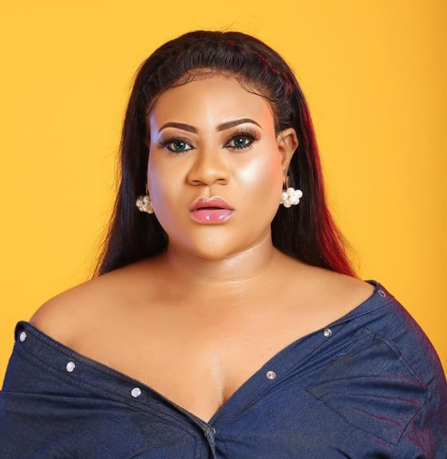 Nollywood Actress, Nkechi Blessing reacts to Mompha's N100m Bail