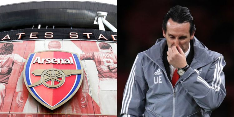 Arsenal sack Unai Emery (Club Statement)