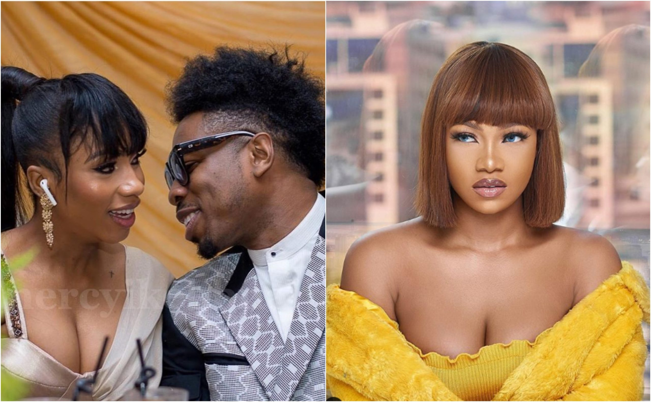 Mercy was Ike's second choice after Tacha rejected to be his girlfriend- inside reports (Photos)