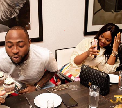 Davido and Chioma react to the birth of B-red's son (Photos)Davido and Chioma react to the birth of B-red's son (Photos)Davido and Chioma react to the birth of B-red's son (Photos)
