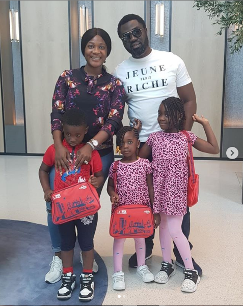 They are my world - Mercy Johnson says as she steps out with her family (Photos)
