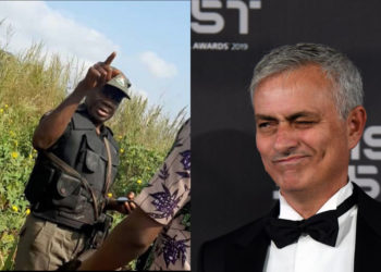 Policeman arrests a man for using football coach Mourinho as WhatsApp Profile Picture