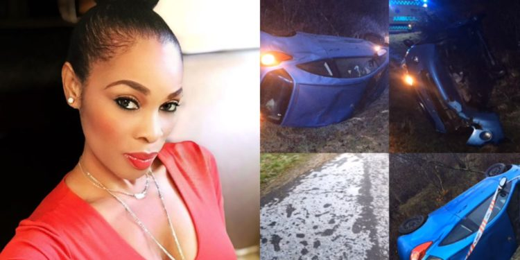 My life flashed right in front of me - Actress Georgina Onuoha marks 2years after her Car crash in Denmark (Video)