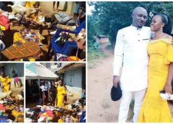 See as ground full - Igbo bride shows off the bride price her groom brought (photos)