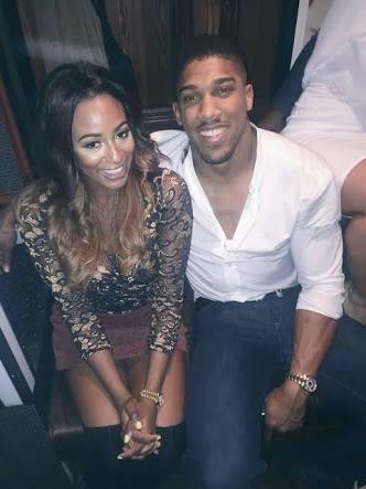 DJ Cuppy fuels dating rumours with Anthony Joshua as she arrives Saudi Arabia to watch his fight this weekend (Video)