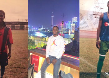 Footballer, Odion Ighalo shares epic throw back photos of himself