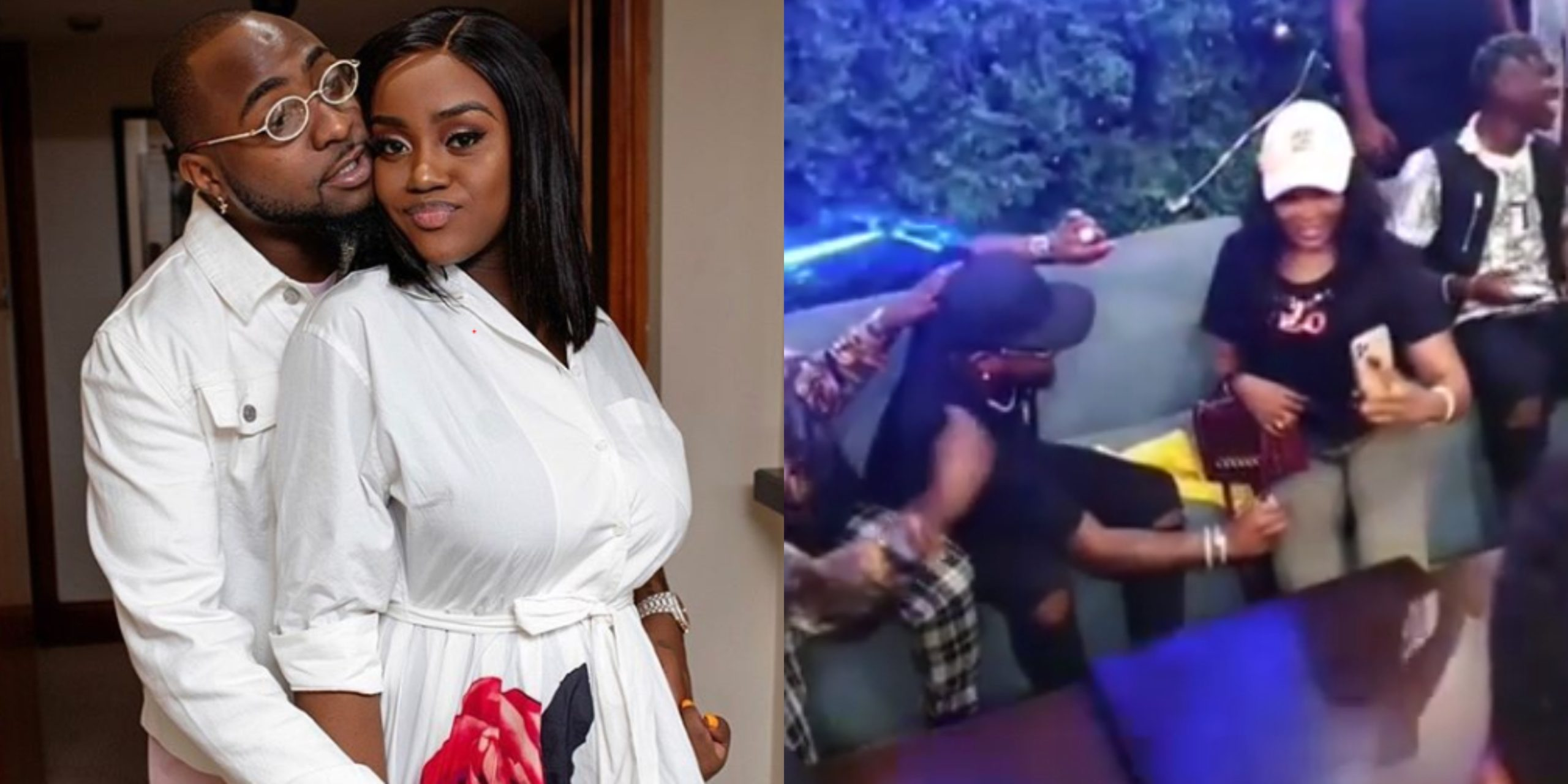 Davido refuses to sign on fan who brought forward her boobs for autograph (Watch Video)