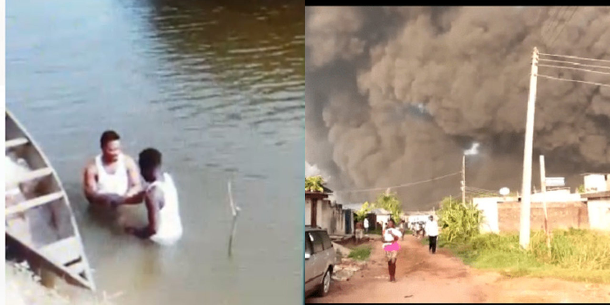 Pastor and church member, doing deliverance reportedly caused the pipeline explosion at Igando