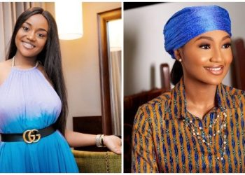 The smile, class and carriage - 5 photos of Zahra Buhari and Chioma Avril to prove they look like sisters